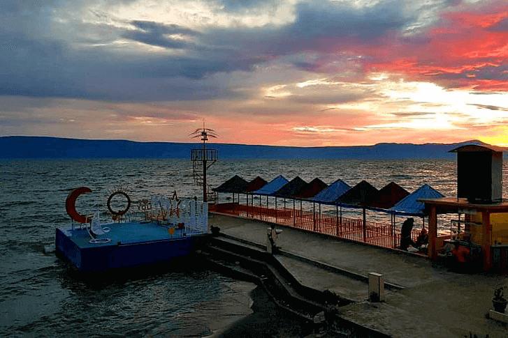 Pantai Raya Tigaras - KlikBatak